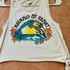 Mermaid At Heart Crop